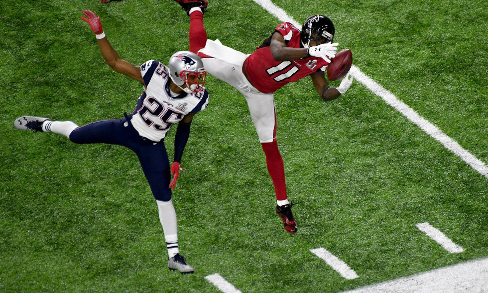 Super Bowl 51 Catch
