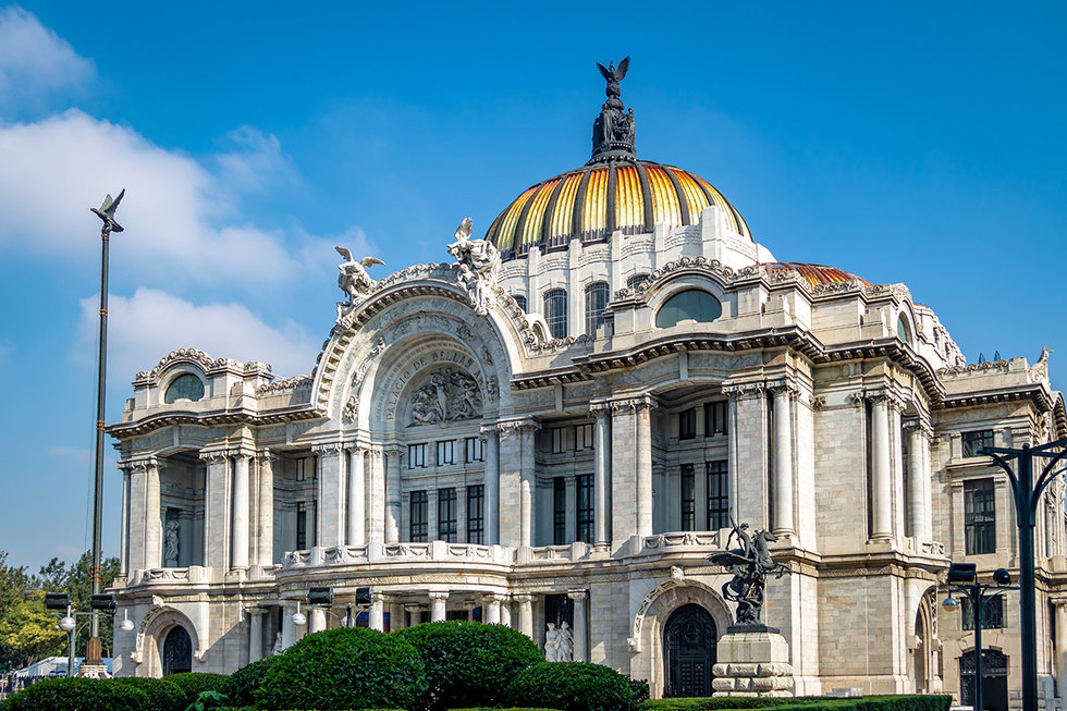 Fine Arts Palace - Mexico City, Mexico
