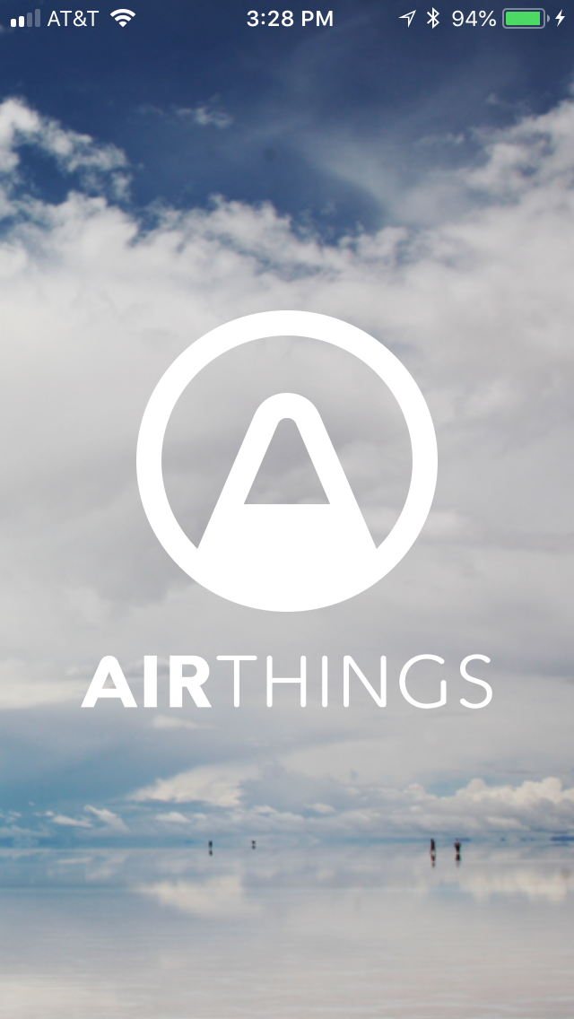 Download Airthings App (iOS or Android)