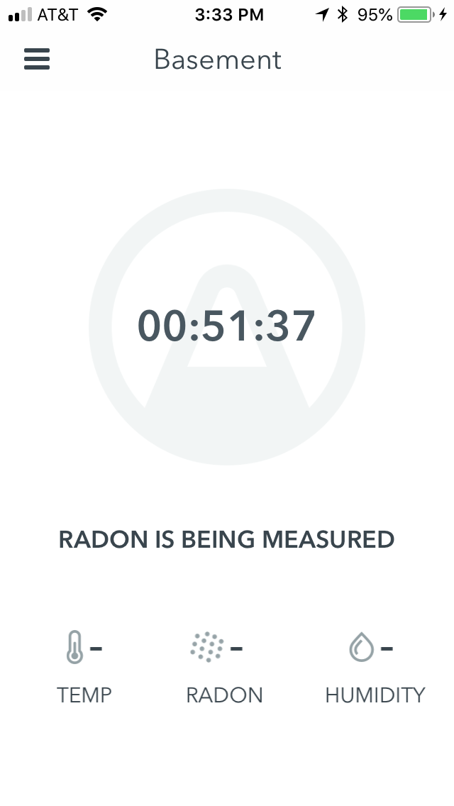 Get a radon detection device, like Airthings Wave, to monitor your radon levels.