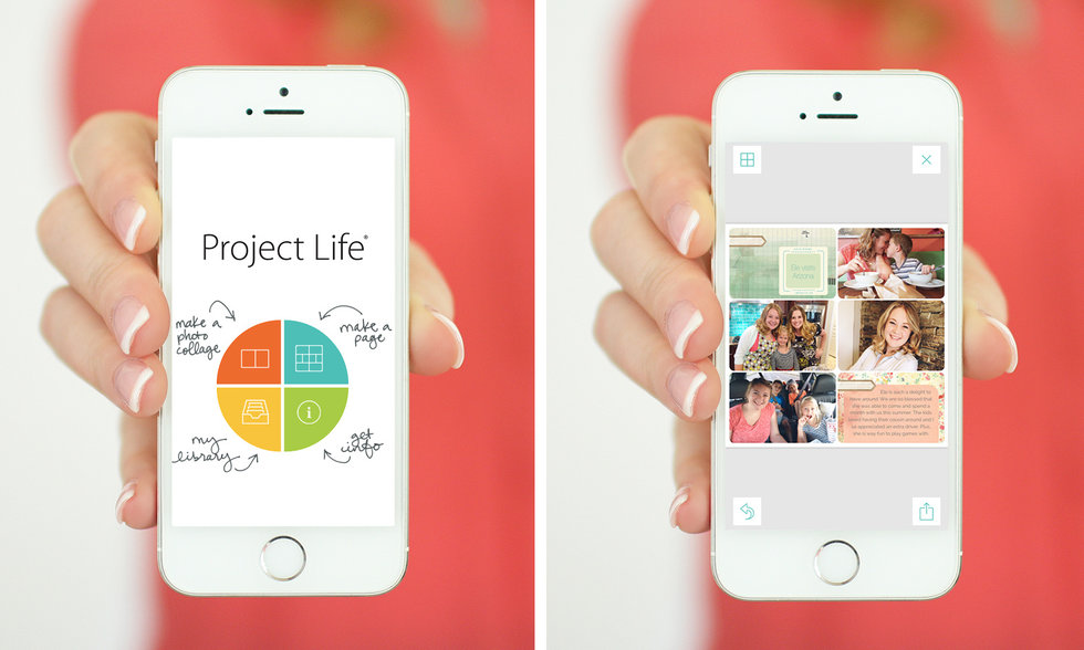 best virtual photo albums project life app