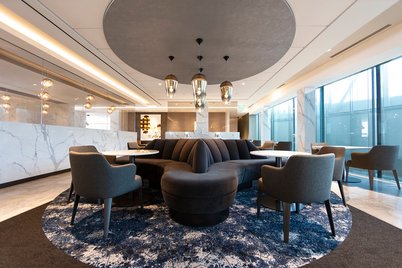 United Polaris Lounge Houston IAH Opening June 29