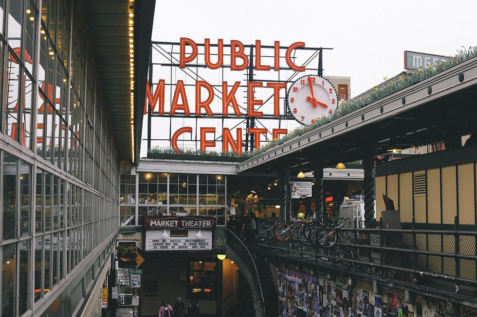 Pike Place Public Market in Seattle