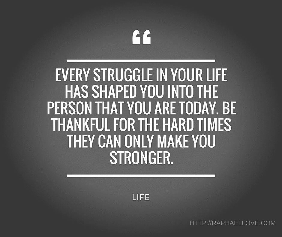 Quote about hardship
