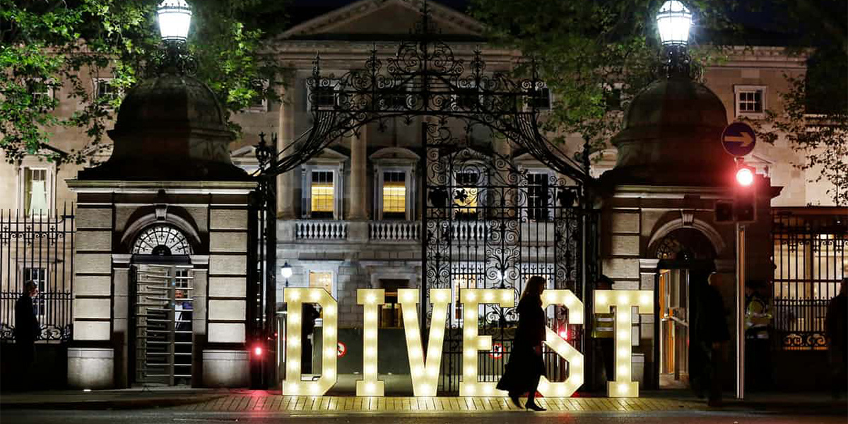 photo image Ireland on Path to Become First Country to Divest from Fossil Fuels
