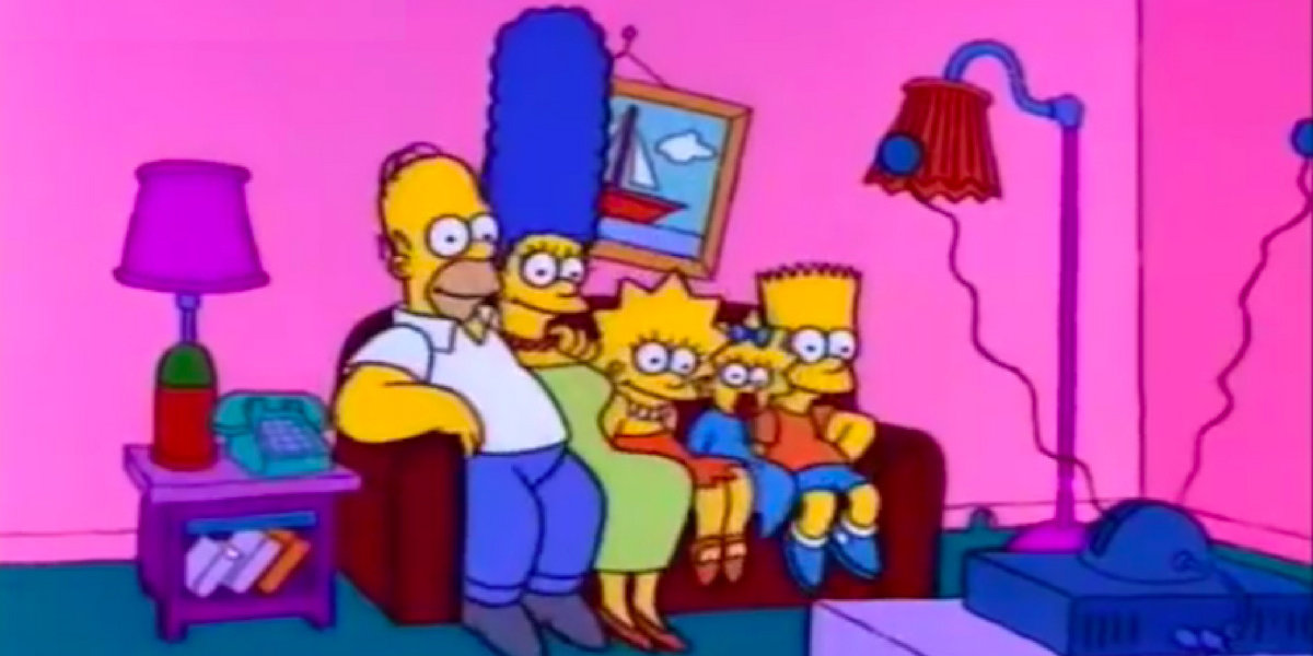 This Is What The Simpsons' Living Room Would Look Like In Real Life