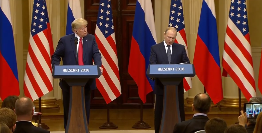 WHAT THE HOLY MOTHERFUCKING FUCK WAS THAT TRUMP-PUTIN PRESS CONFERENCE?