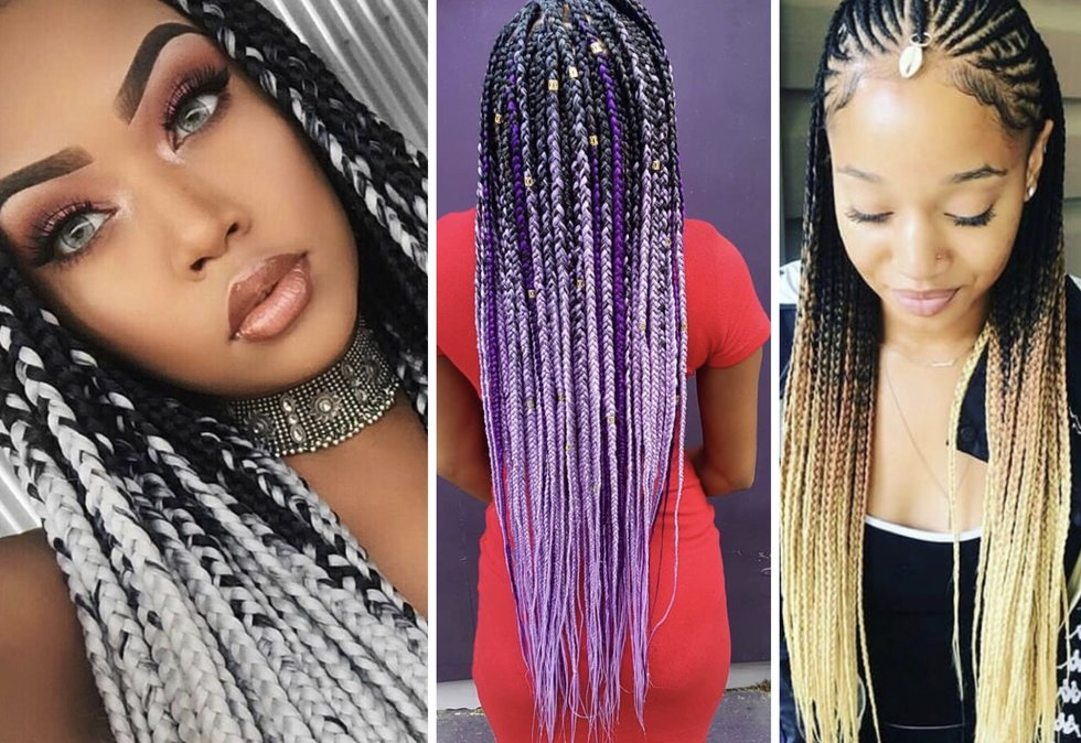 15 Ombré Braid Styles We're Currently Lusting Over