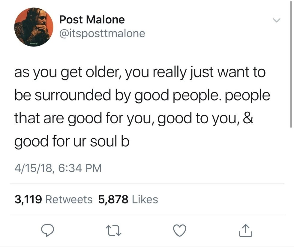 Twitter Picture Quotes: Best Post Malone Tweets