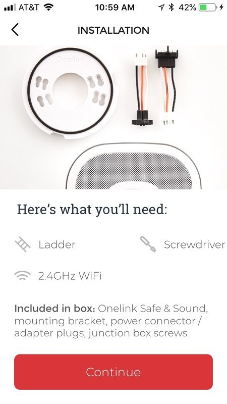Tools you will need to install your Onelink Safe and Sound