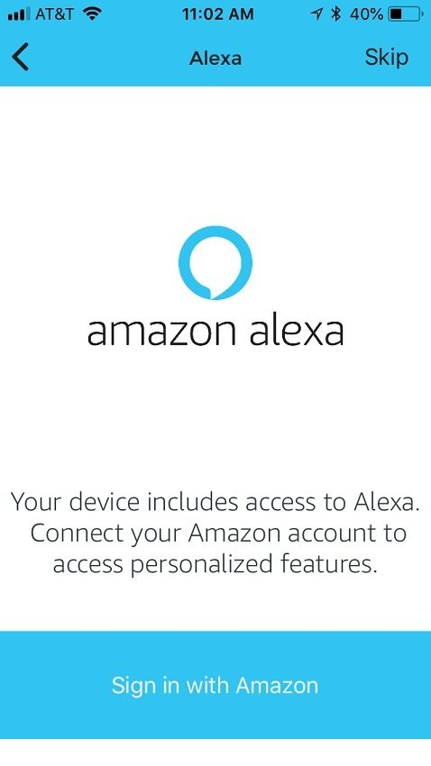 Onelink Safe and Sound works with Amazon Alexa