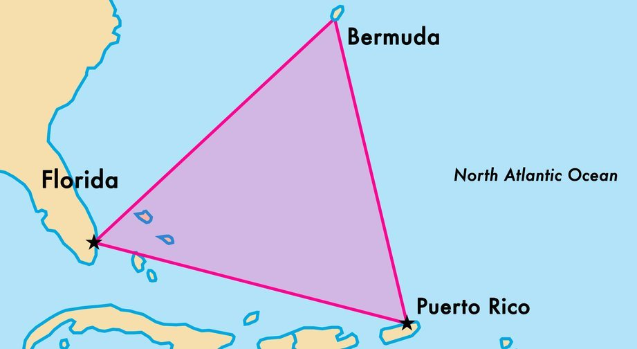 Why is there no map of the Bermuda Triangle? The U.S. Coast Guard ...