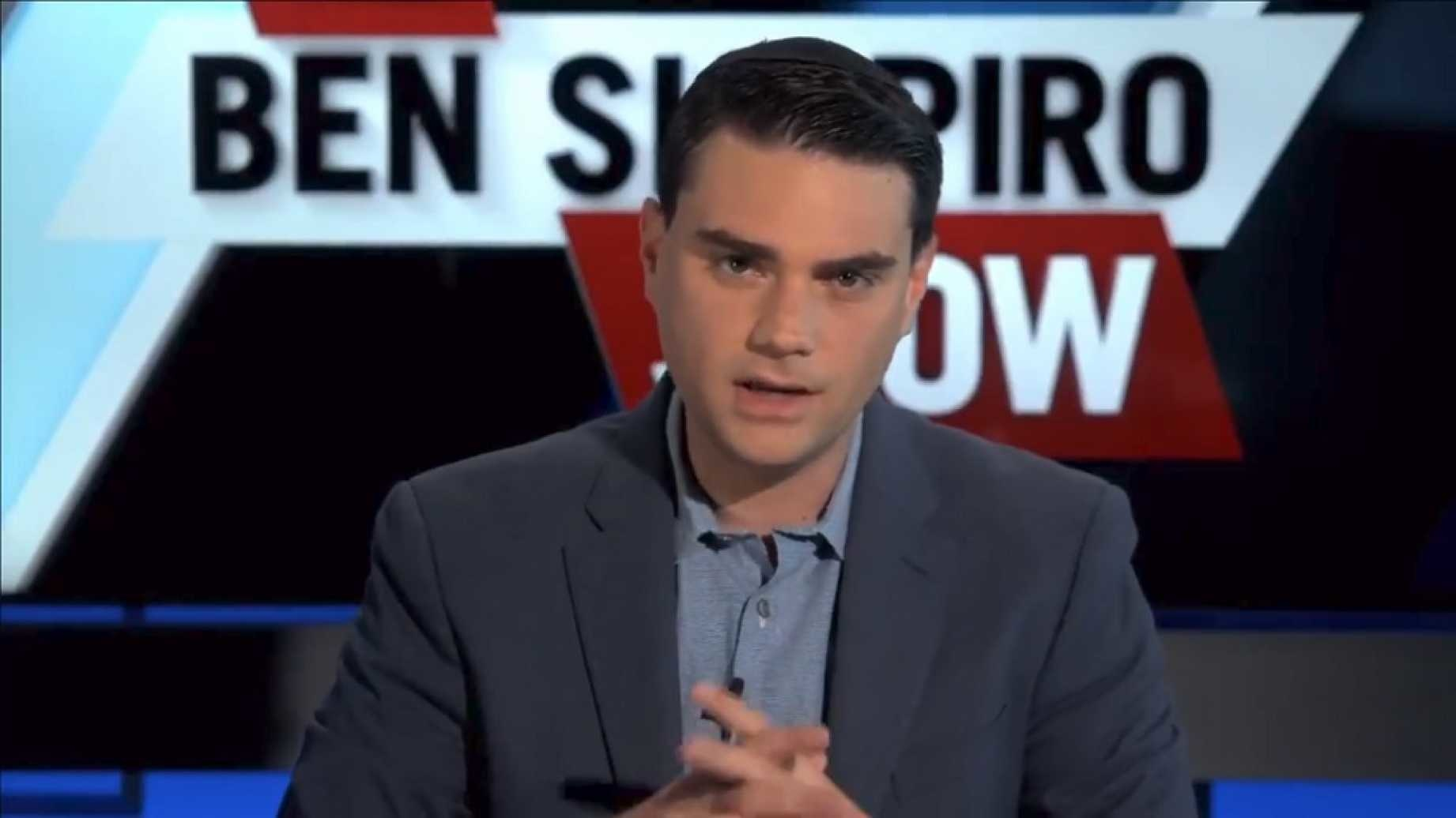 photo image Ben Shapiro Offers Woman $10,000 To Talk To Him