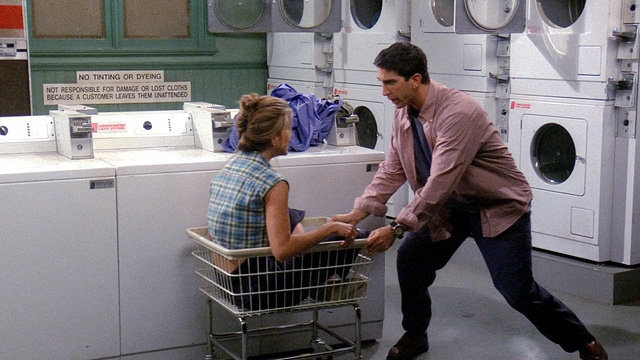 Image result for ross and rachel laundry