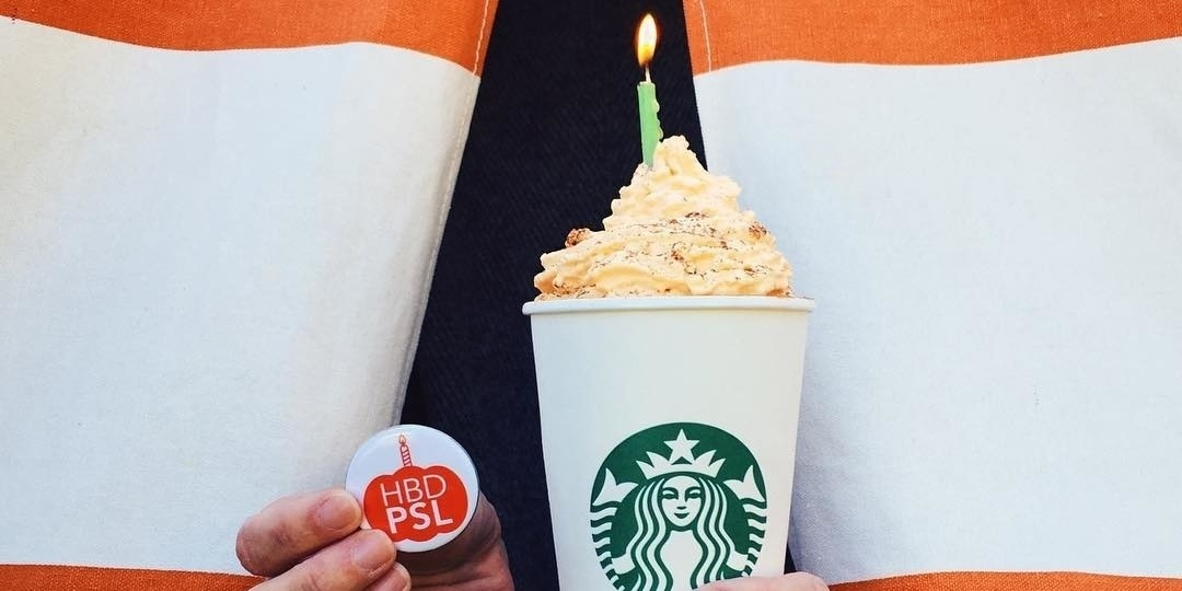 The Pumpkin Spice Latte comes back next week! 🍂