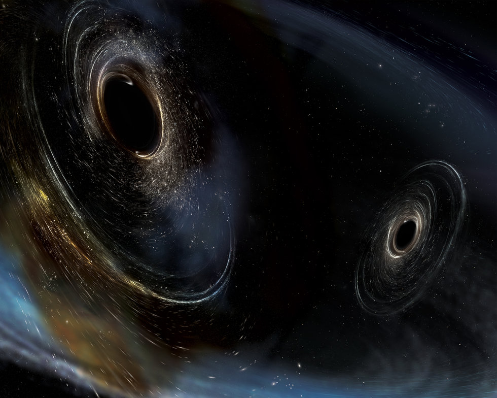 Scientists Have Recorded the Sound of Two Black Holes Colliding, and You Can Hear It Too
