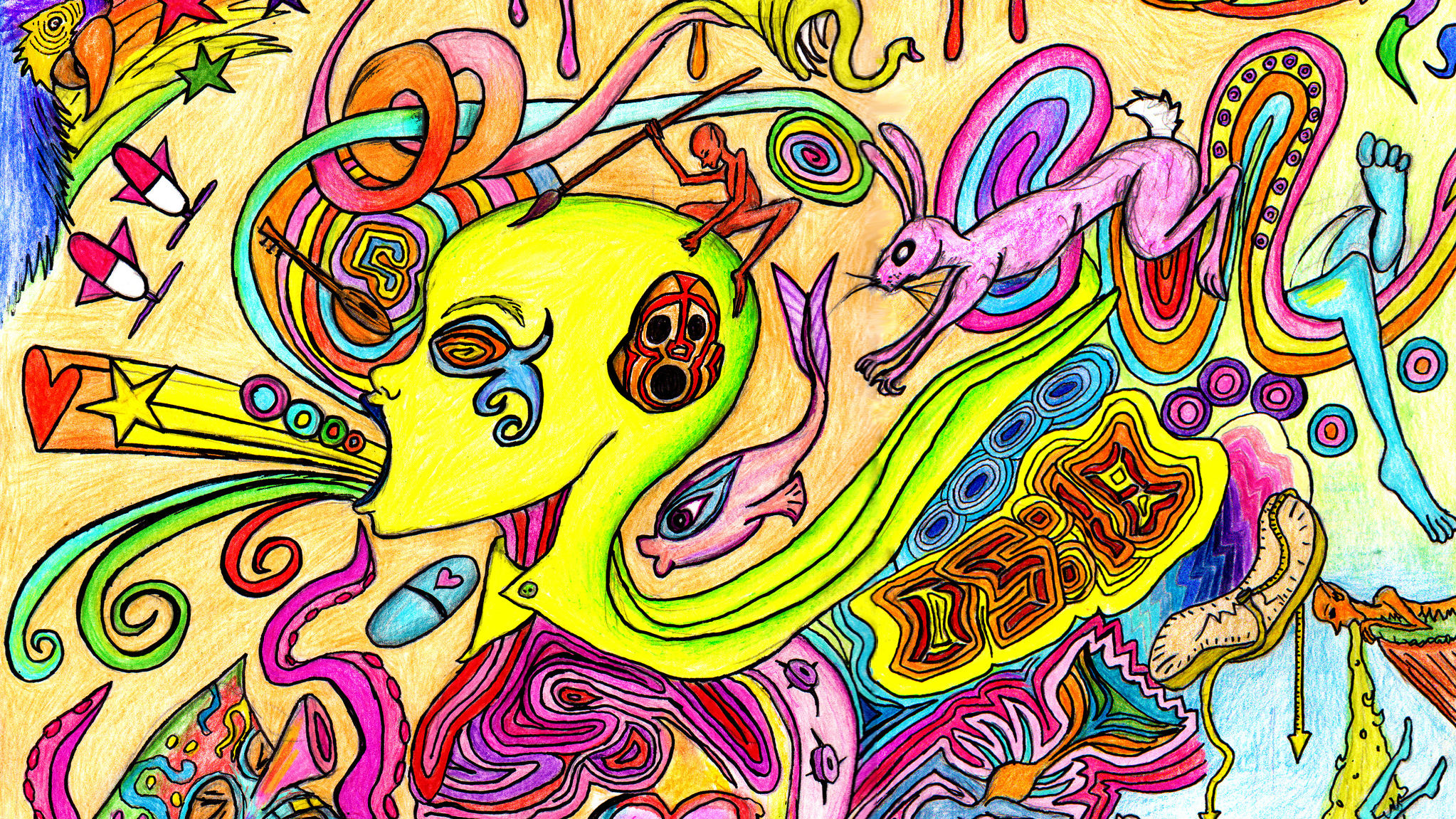 How LSD Makes You More Optimistic in the Long Term - Big Think