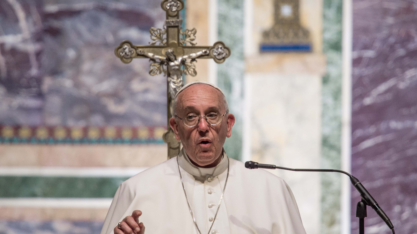 Pope Francis describes our fateful modern struggle against