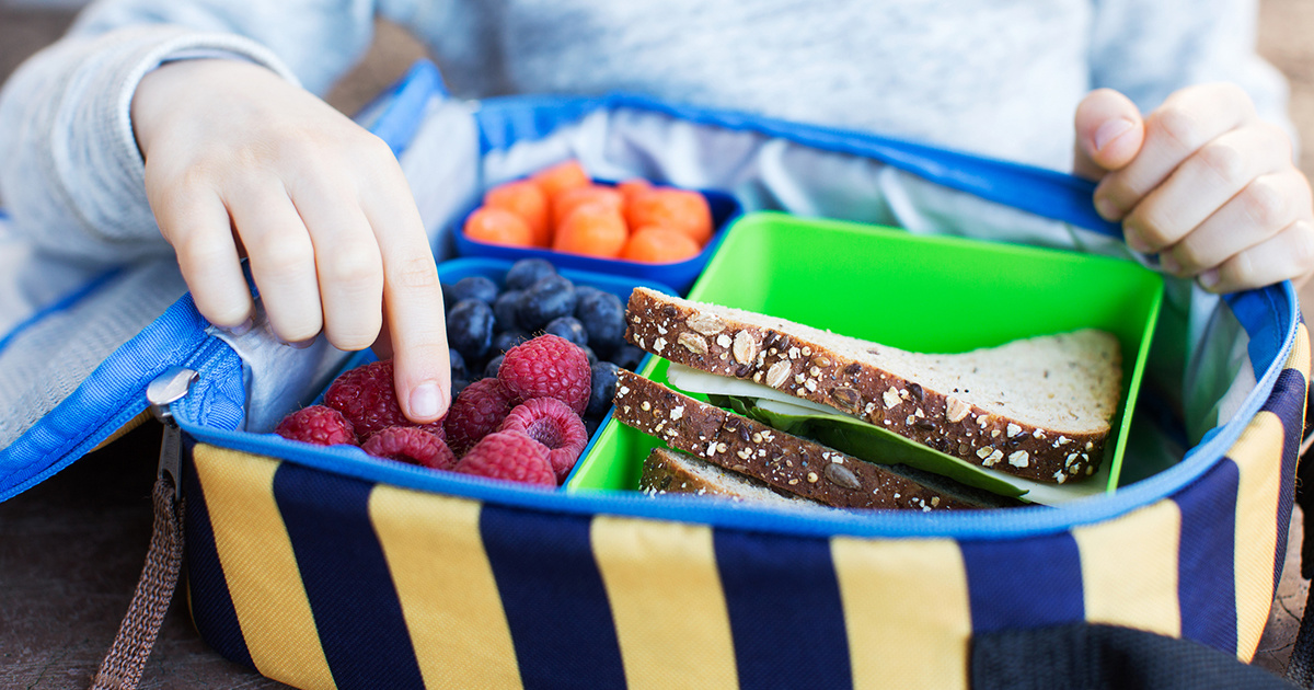 Back-to-School Tips for a Healthy Lunch