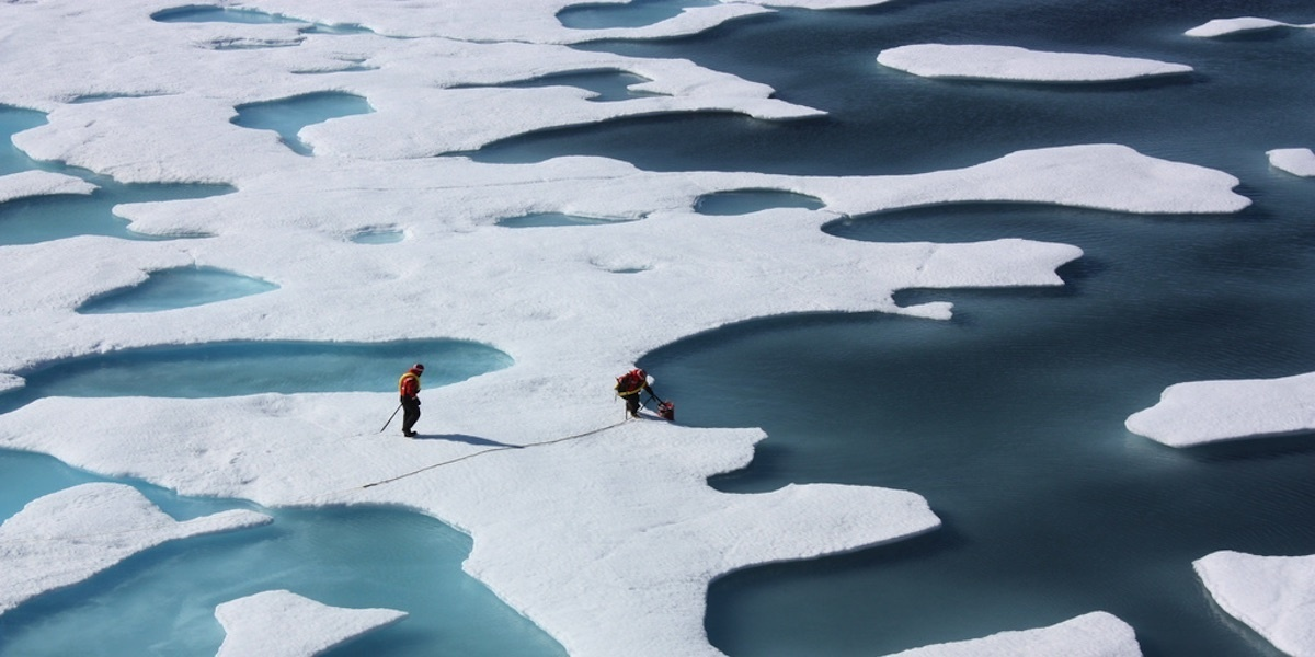 Warm Waters Under Arctic Ice a Ticking Time Bomb