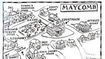 Maycomb Alabama Map To Map a Mockingbird   Big Think