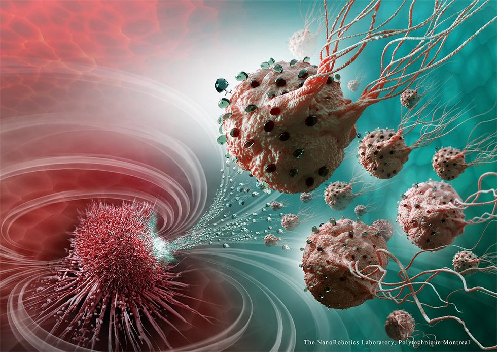 Breakthrough Tech: Scientists Use Swarms of Nanorobots to Precisely Target Cancer Cells