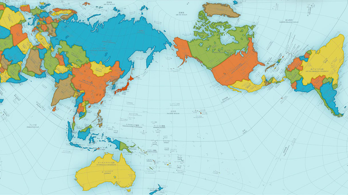 Correct Map Of The World Award Winning Map Shows a More Accurate World   Big Think