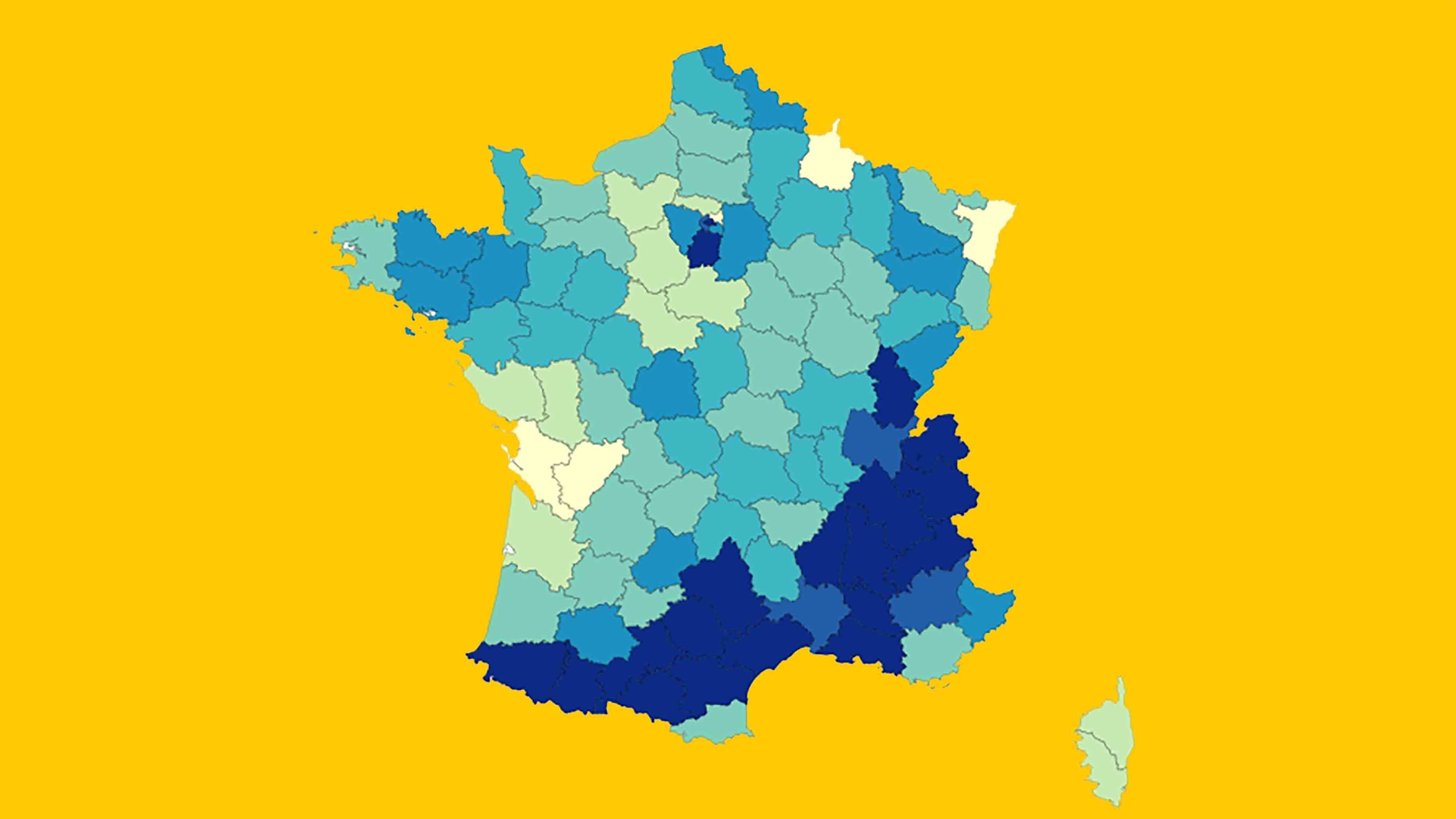 Tour de France: Map of Tour Route History - Big Think
