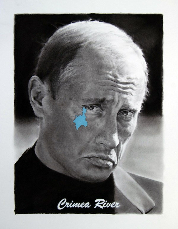 662 Crimea River Painting Putin Pouting Big Think