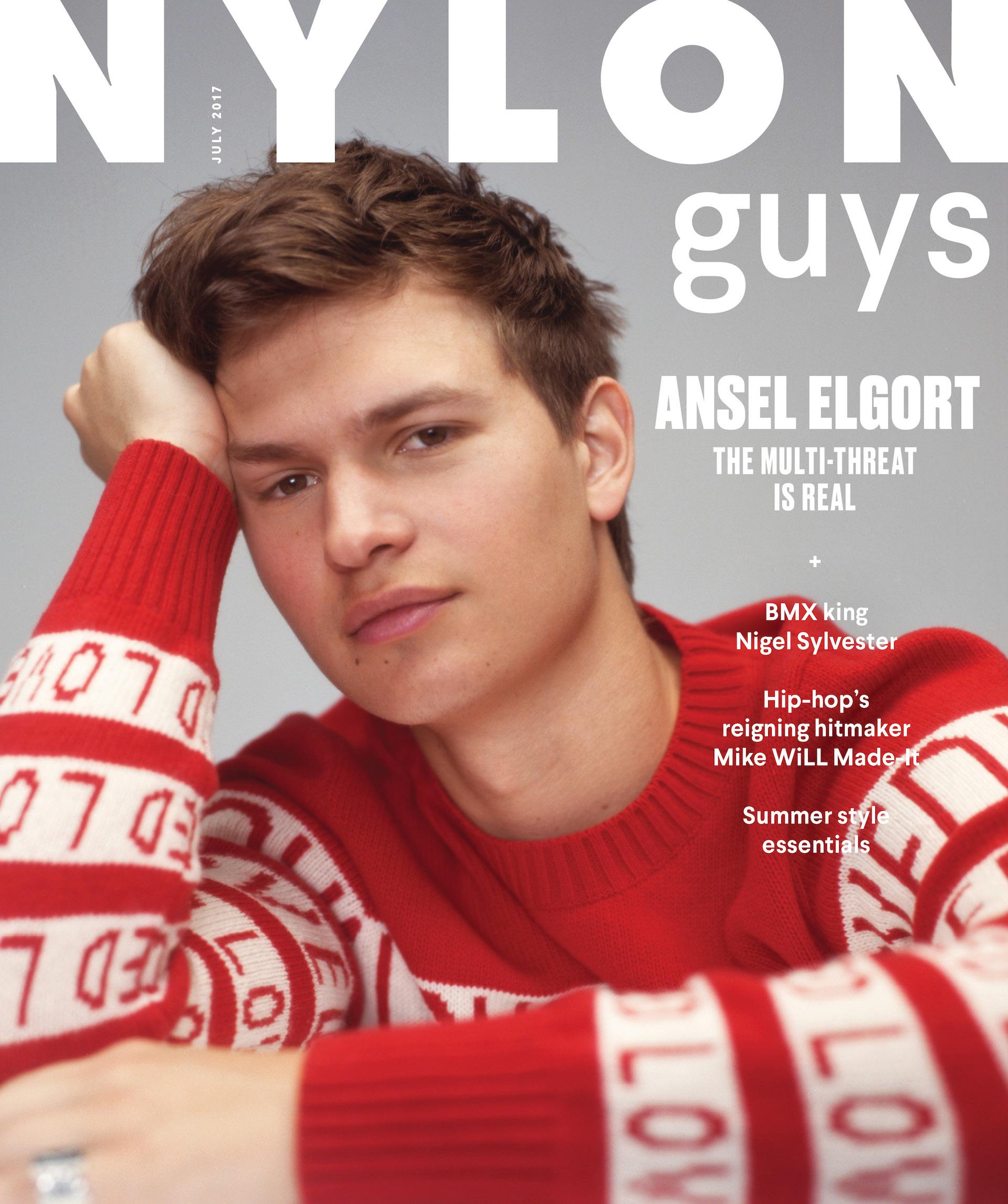 Ansel Elgort Is Our NYLON Guys June/July Cover Star - NYLON