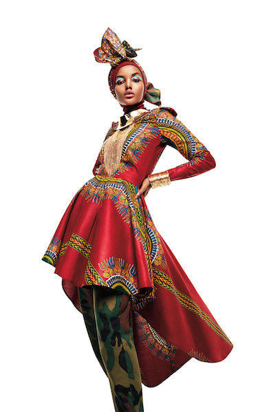 Naima Muhammad for House of Coqueta.