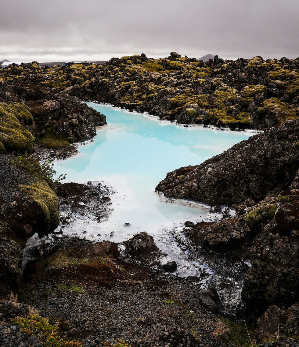 World-famous Blue Lagoon