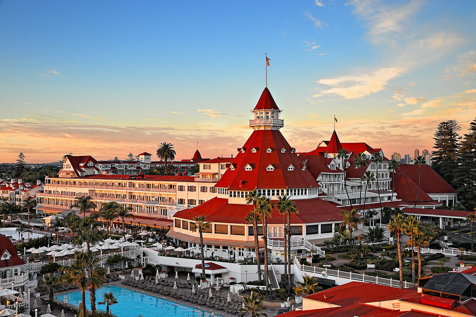 Photo Via The Hotel Del Coronado