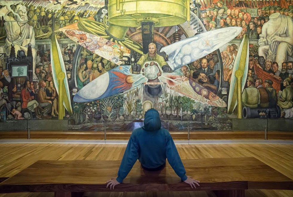 Nylon Revaloracion De Los Dos Murales Que Inauguraron El Museo Del