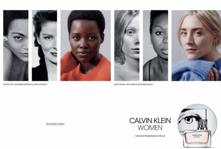 Lupita Nyong'o and Saoirse Ronan Are The Newest Faces Of Calvin