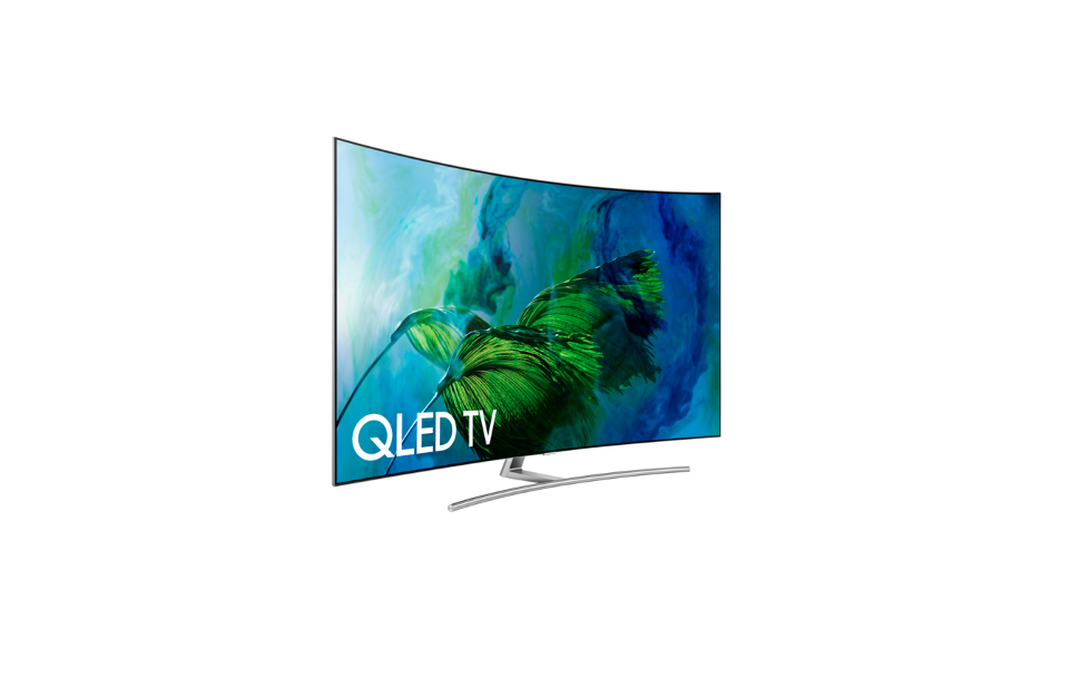 Picture of Samsung Q8C UltraHD television