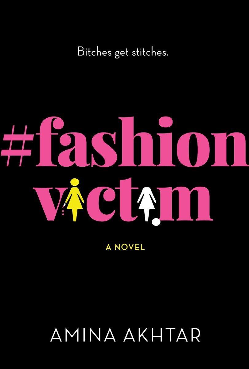 Book Cover Of Fashion ~ Amina akhtar s fashionvictim spotlights being fat in fashion