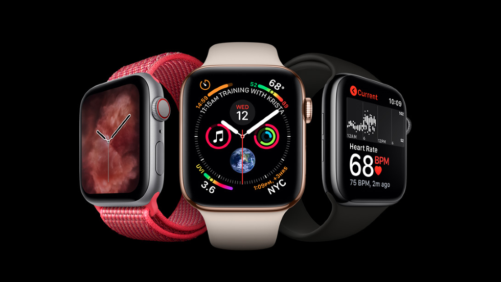 Picture of 3 apple watch 4