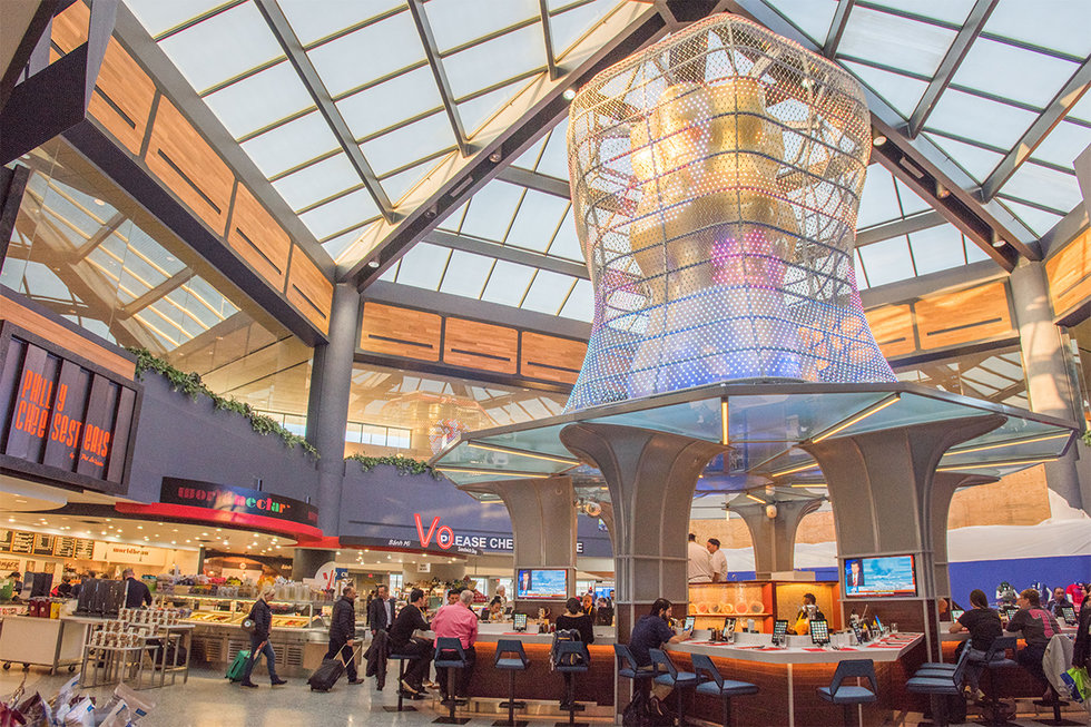 The Global Bazaar in the C1 Concourse of Terminal C at EWR