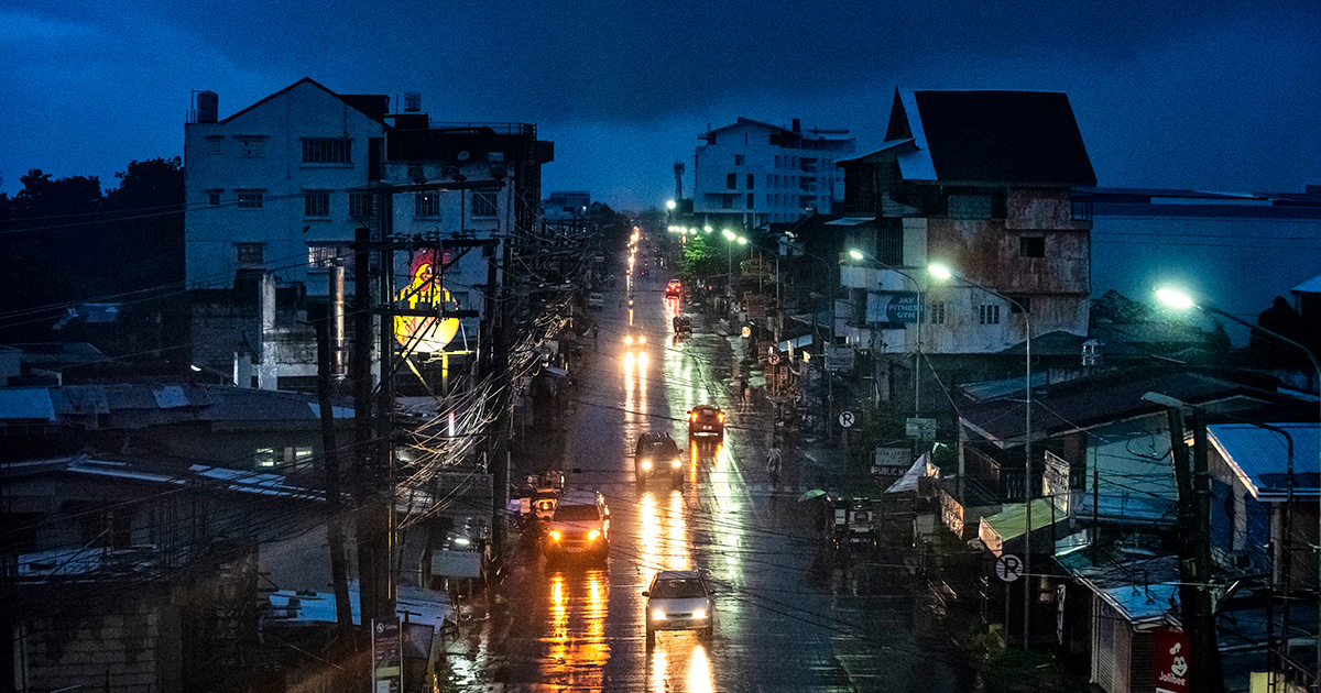 photo image Philippines Prepares For 'Monster' Typhoon