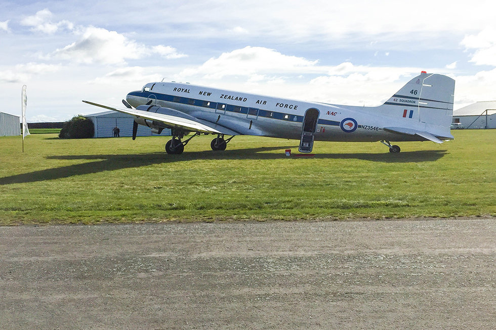 DC-3 Aircraft in New Zealand