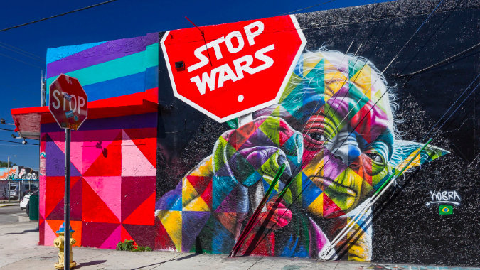 How Augmented Reality Is Changing Street Art Big Think