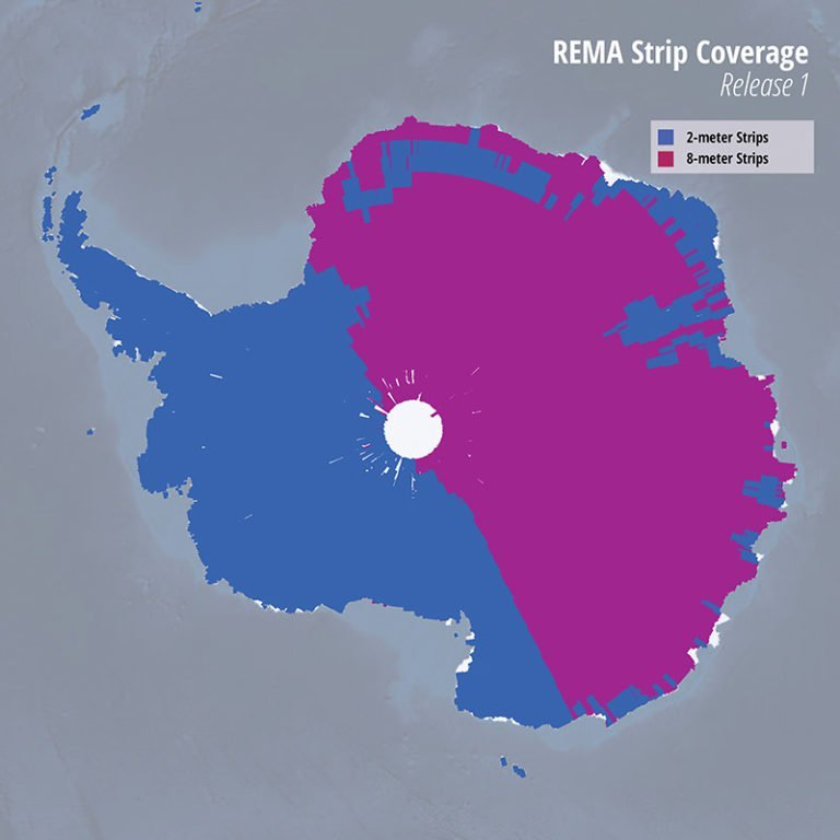 Antarctica is now the best-mapped continent in the world