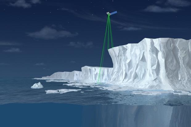 NASA launches ICESat-2 into orbit to track ice changes in Antarctica and Greenland