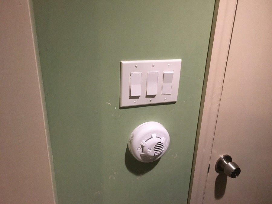 Standard light switches.