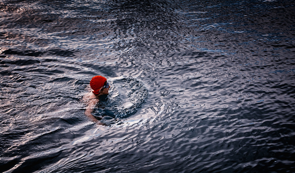 How swimming in cold water could treat depression