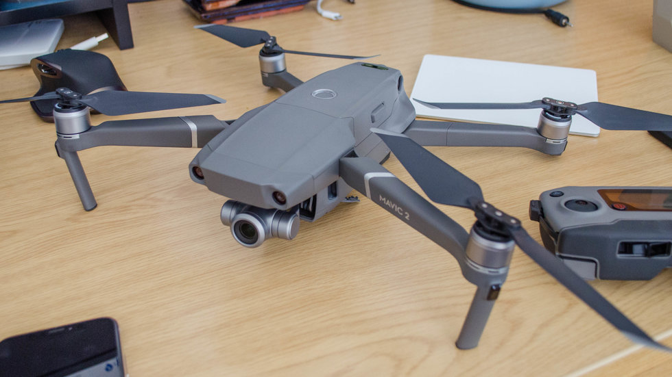 picture of DJI Mavic 2 Zoom drone.