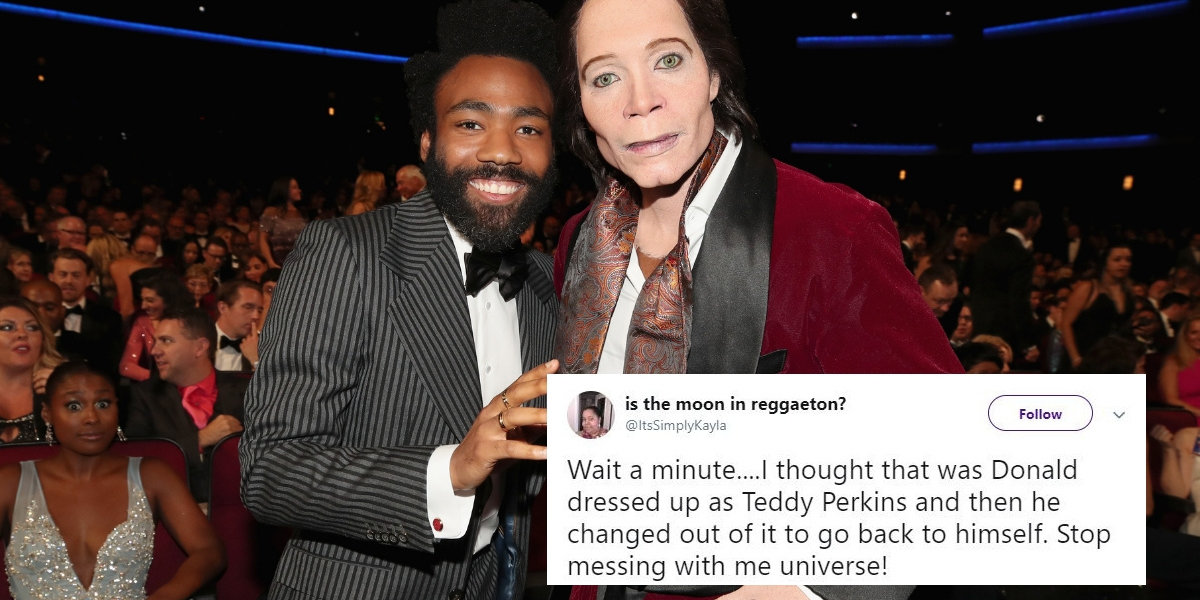 Nobody Seems To Know Who Dressed As Teddy Perkins From 'Atlanta' At The Emmy Awards—But They Have Theories
