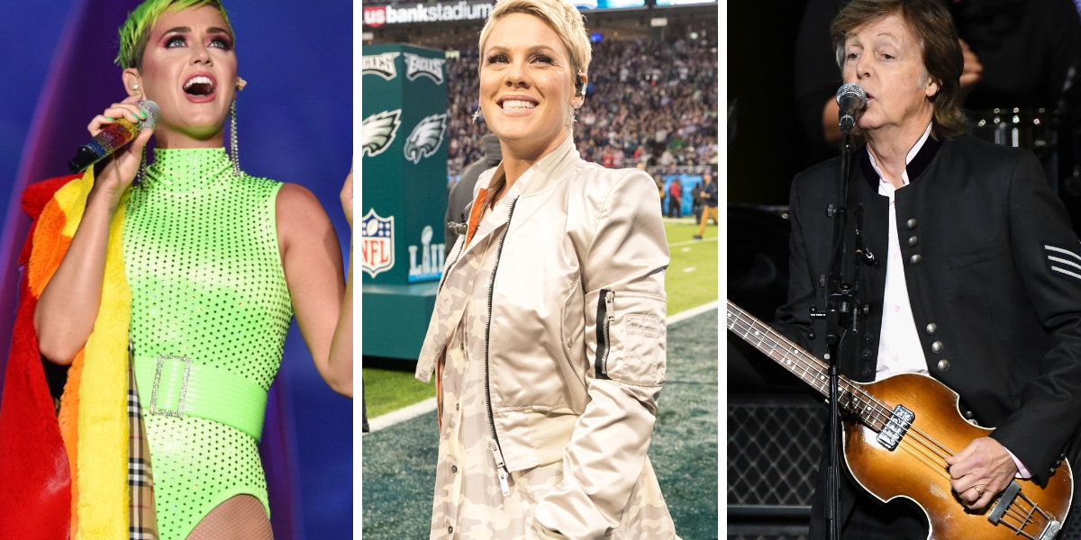 Katy Perry, Pink, Paul McCartney And More Sign Letter Threatening To Boycott SiriusXM Radio