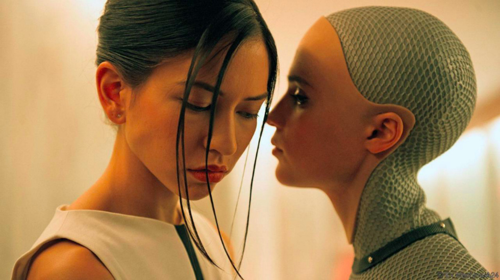 Image: Film4, from the 2015 film 'Ex Machina'
